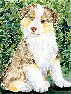 Caroline's Treasures Australian Shepherd Flag Made or Printed in the USA 多色 大