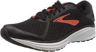 Brooks 男式 Aduro 6 跑鞋,黑色/樱桃色/白色,10.5 英国尺码