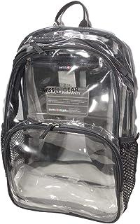 Swiss Gear 透明 PVC 背包 - 透明透明袋,OS (SA3635)
