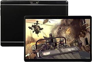 10.1英寸安卓平板电脑,安卓9.0八核处理器1.5GHZ,4GB RAM 64GB ROM。 1280 x 800 IPS 高清显示屏,平板电脑10英寸双摄像头,蓝牙,5G-WiFi,GPS,P7(黑色)