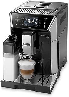Delonghi ECAM 550.55 獨立的 SB 全自動咖啡機膠囊 2L 升不銹鋼餐廳 - 自由式咖啡機,膠囊,2 升,工廠,1450 瓦,不銹鋼)