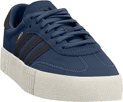 adidas 阿迪达斯 SAMBAROSE 女式鞋 Legend Marine/Core Black/Off White 5