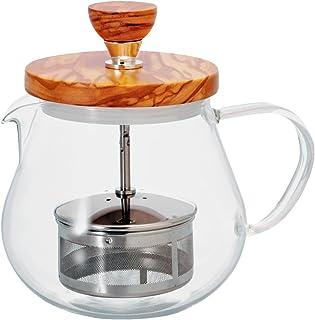 HARIO 木盖茶壶 450ml TEO-45-OV