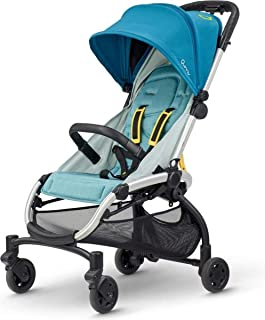 Quinny 1312771000 LDN 婴儿车,适合6个月至约3.5岁(0-15千克),单手折叠,超紧凑设计,灰色扭转,灰色