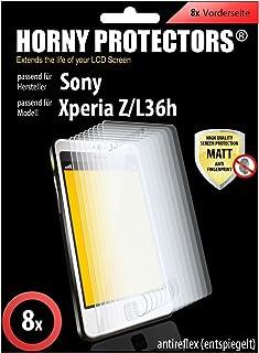Horny Protectors Sony Xperia Z/L36h 屏幕保护膜12076 无反光 8x Folie