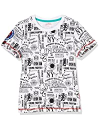 Disney 迪士尼童装 男童 针织短袖T恤 KSP8M1KTKB2702XW