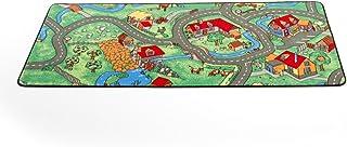 农场儿童游戏农场地毯 W: 36 x L: 80 多彩
