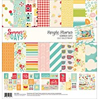 """Simple Stories Collection Kit 12""""X12""""-Summer Days"""