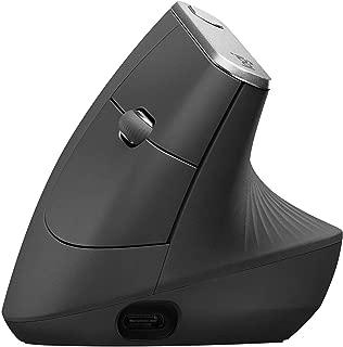 Logitech MX 垂直线和无线高级人体工程学鼠标,缓解肌肉应变
