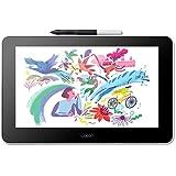 Wacom One Creative Pen Display with 免费软件用于屏幕描绘和绘画,13.3 英寸,1920 x 1080 全高清显示屏,色彩鲜艳,笔精度,兼容 Android、Windows 和 Mac