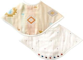 BOBO 松软纱布(6重) 2way围兜(2件装) 18241018