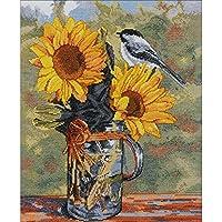 Bucilla 十字绣套装,27.94 x 35.56 cm,46471 Sunny