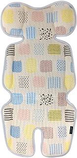 VENTIYO 婴儿推车凉爽座椅垫带透气 3D 网眼 - 珊瑚海滩