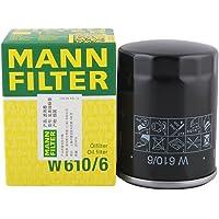 曼牌(MANNFILTER)W610/6机油滤清器(里程/思域/思铂睿/思铭/S1/CR-V/奥德赛/雅阁/锋范/飞度