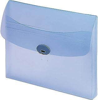 KOKUYO 文件夹 硬质 带贴纸 A4 蓝色
