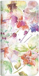 Mitas VAIO Phone VPB0511S 手机壳 手账型 无带 水彩 花 花朵 B (234) NB-0221-B/VPB0511S
