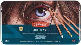 Derwent 达尔文托 彩色铅笔 淡紫色 金属外壳 36色