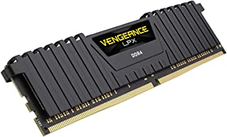CORSAIR vengeance LPX 8 GB (1 x 8 GB) DDR dram 2400 Mhz (PC 4 – 19200 ) C14内存套装 – 黑色