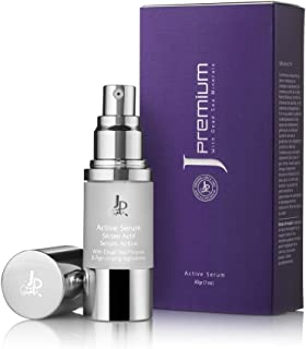 Premium Active Serum by Jericho for energetic glowing look, Enriched with Dead Sea Minerals, Pure Honey, Plant Extracts, V...