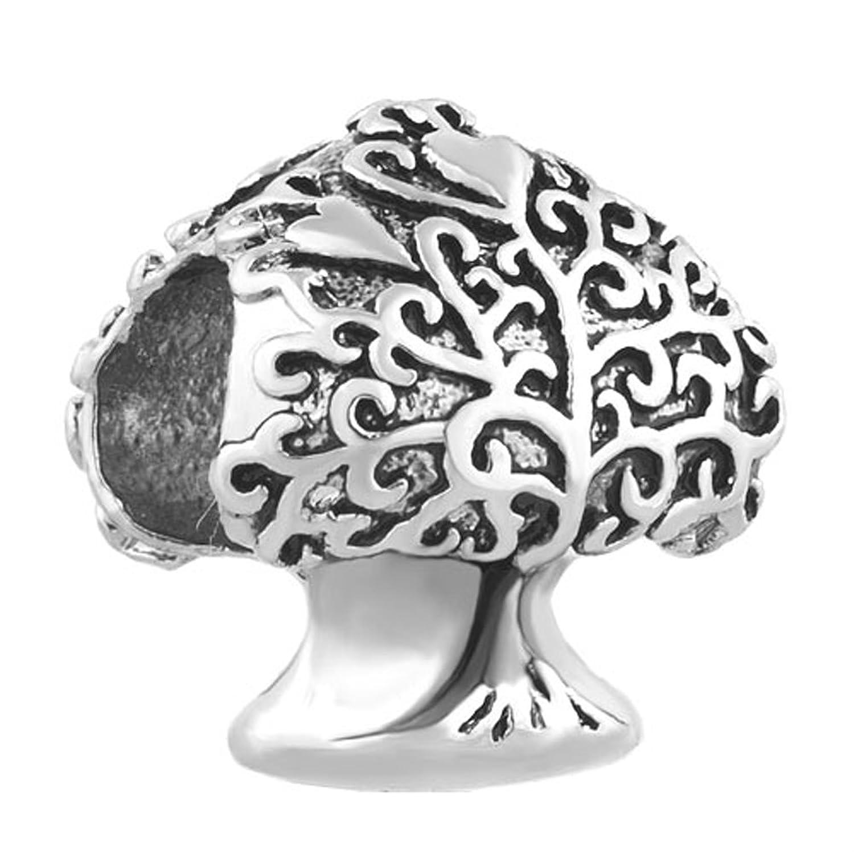charmed 手工复古生命之树魅力家庭饰品串珠适用于手链
