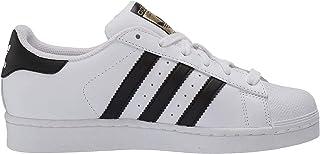 adidas原装儿童superstar 运动鞋(大童 / 小童 / 幼儿 / 婴儿) 白色/黑色 4 M US 儿童