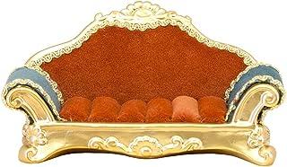 秋月贸易 古典 环支架 沙发 Orange W15×D6×H7cm QY3931-OR