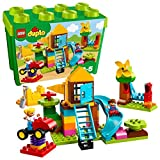 LEGO 乐高  拼插类 玩具  DUPLO 得宝系列 我的游乐场创意积木盒 10864 2-5岁 婴幼