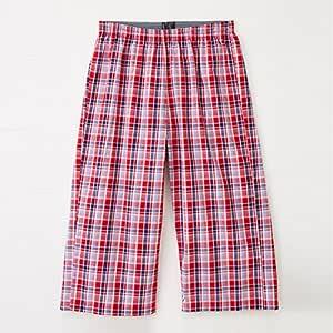 轻松SUTETEKO 舞台裤 棉* 红色 Medium -