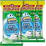 【批量购买】 Scrubbing Bubbles 马桶清洁剂 可流动式厕所刷头 替换用72个装(24个×3套)