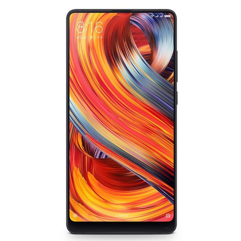 Xiaomi 小米手机MIX2 全网通 6GB+64GB 黑色陶瓷