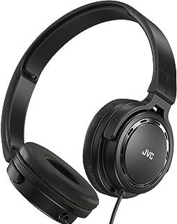 JVC 杰伟世 HA-S520-B 白菜神器500升级版 便携DJ折叠头戴式耳机 重低音耳机 黑色
