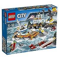 LEGO 乐高 LEGO City 城市系列 海岸警卫队总部 60167 6-12岁 积木玩具