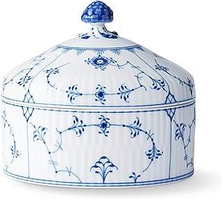 【正规进口商品】皇家哥本哈根 蓝色水果 平面 室内装饰 白色 φ13×H11.5cm 1016758