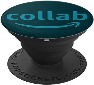 Collab * Popsocket - PopSockets 手机和平板电脑抓握支架260027  黑色