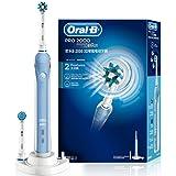 博朗欧乐B/oral-b 2000 3D电动牙刷成人充电式 (蓝色)