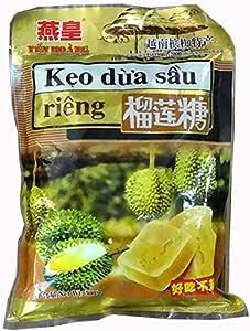 越南特产燕皇榴莲糖——浓香型(300克/袋)*5袋