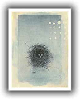 Art Wall 'Neutral Tone Nest' Unwrapped Canvas by Elena Ray, 28 by 36-Inch