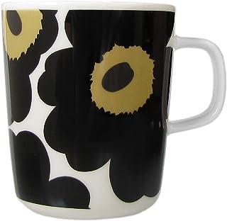 MARIMEKKO 马克杯 Unikko 罂粟印花 063431 250毫升 7种颜色 黑色 白色 250ml 63431 030