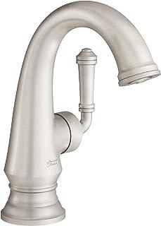 American Standard Delancey Handle 浴室水龙头,带排水 灰色(Brushed Nickel)