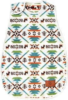 乐儿宝 Bobo 围兜 / 口水巾綿毛布睡衣 白色 着丈約60cm、身幅約33cm