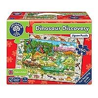 Orchard Toys 积木拼图 发现恐龙(亚马逊进口直采,英国品牌)