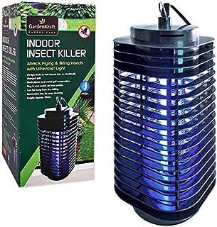 GardenKraft 20480 电动防紫外线室内昆虫杀手 - 黑色