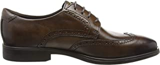 ECCO 爱步 男士Melbourne 粗革皮鞋