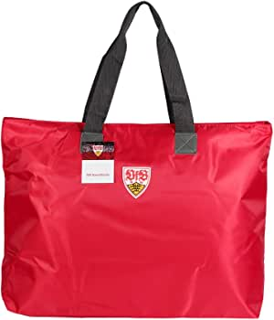 MarkenMerch 帆布和海滩手提包,Rot Mit 徽标(红色)- 784006