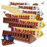Toblerone瑞士三角 瑞士进口巧克力 黑巧克力 白巧克力 牛奶巧克力 口味组合规格可选 (白巧100g*3+葡萄干巧克力100g*3)