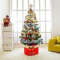 1.5米圣诞树加密装饰树新款圣诞节装饰品礼品树家庭办公室圣诞装饰 高150cm(配LED灯条)