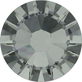 施华洛世奇 XILION Rose Enhanced 人造钻石 (2058) SS5 - 黑钻石 (215) 背面铂金镶嵌 SS5 (1.8mm)