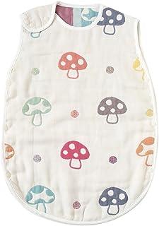 Hoppetta 蘑菇圖案 嬰兒蓬松柔軟睡袋 6層紗布
