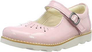 Clarks Crown Jump K 女童版 扣带芭蕾舞鞋