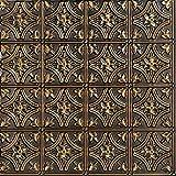 150ag-24x24-25 哥特式铰链天花板砖,古董金色,25 古铜金(Antique Gold) 150ag-24x24-25